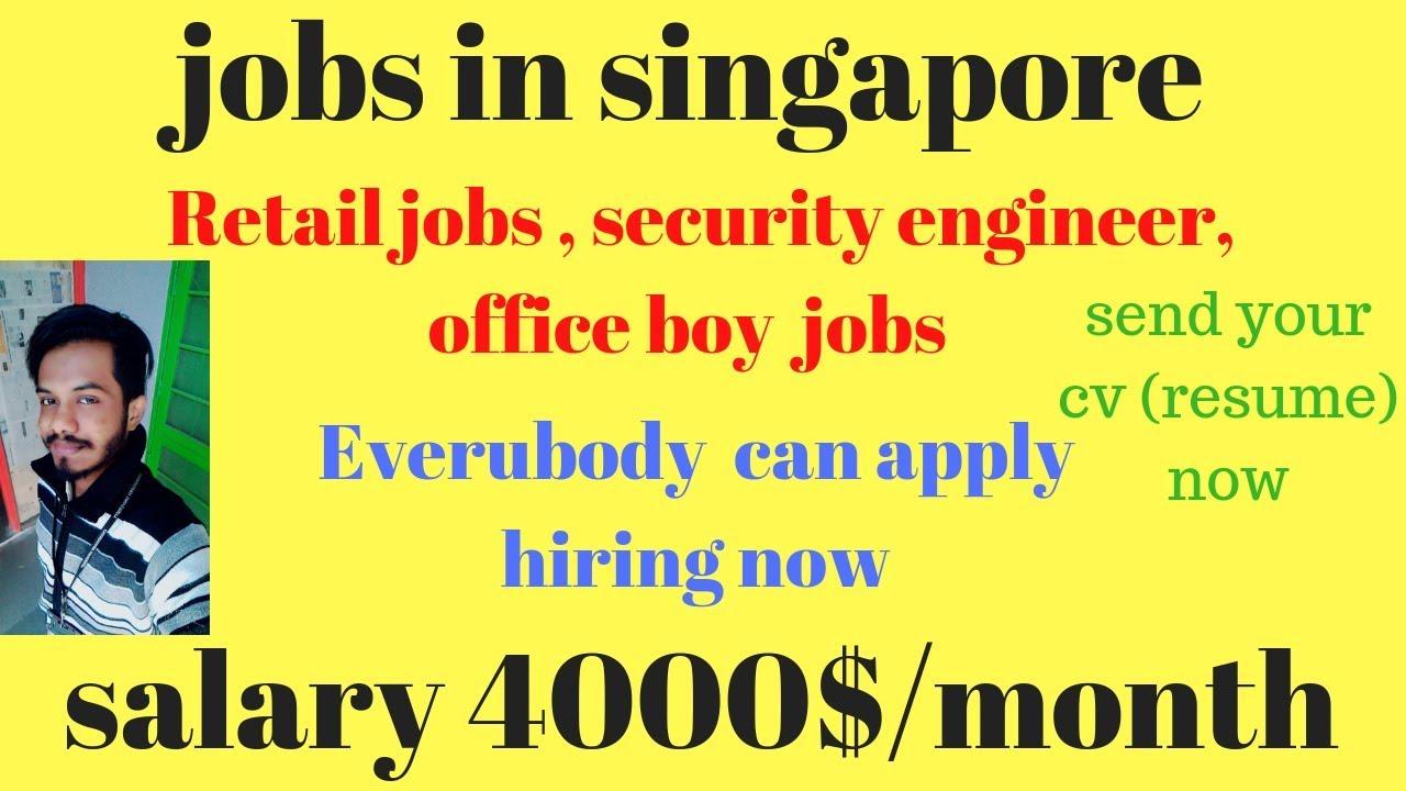 einzelhandel jobs sicherheitsingenieur b ro junge jobs in singapur bewerben sie sich jetzt. Black Bedroom Furniture Sets. Home Design Ideas
